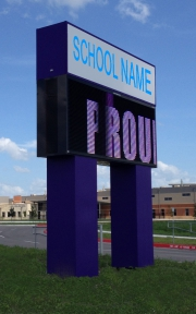 MARQUE LED SIGN